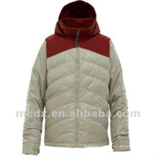 Mens feather down winter coats