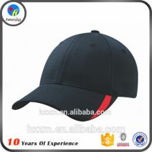 Низкопрофильная шляпа с черной шляпой