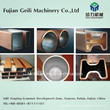 Fournisseur chinois de tube de moule en cuivre pour machine à couler en continu