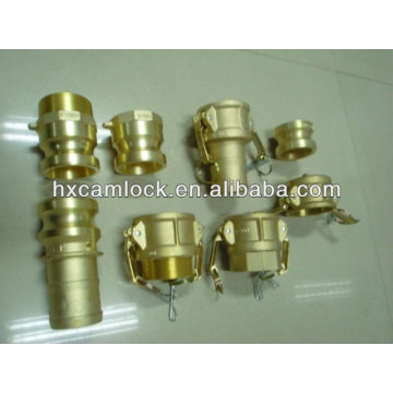 Brass quick connect couplings