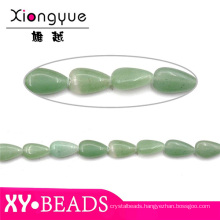 Green Aventurine Waterdrop Jewelry Beads And Stones Wholesale