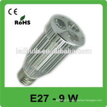 Aluminium E27 led spot lights office a utilisé le produit le plus vendu