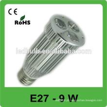 O alumínio E27 conduziu o escritório das luzes do ponto o melhor produto vendido