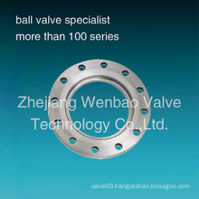 Stainless Steel Flange for Butterfly Valve Specialy Used
