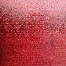 4mm 5mm Red Flora Figured / Patterned Glass