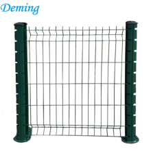 powder coated garden 3D curved welded mesh fence for sale
