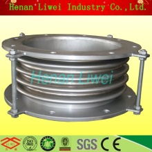 SS316 corrugated double layer bellows pipe expansion joint