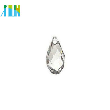 Grânulos de lágrima de diamante preto de vidro a granel