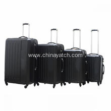 4pcs ABS Hard shell Trolley Luggage Set