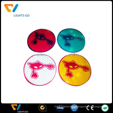 colorful Wholesale customized vinyl sticker,3m reflective sticker printing