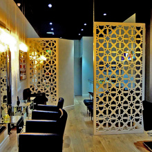 Laser Cut Metal Room Partition