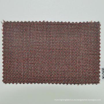 tela de lana lisa marrón hecha a medida para hombre de negocios