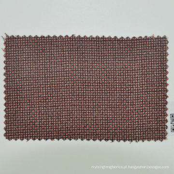 tecido de lã liso marrom feito à medida para o homem de negócios