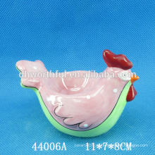 2016 hochwertige Hühnerform Keramik Eierhalter