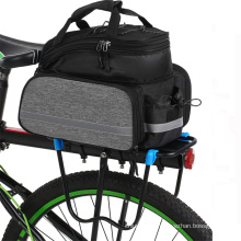 Sport Bicycle Accessories Rear Bag Waterproof Bicycle Frame Bag With Rain Cover