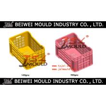 Inyección de moldes de cajas de frutas de plástico
