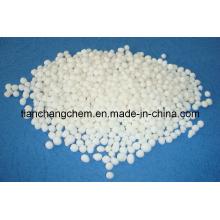 Produits chimiques granulés, engrais, nitrate d'ammonium de calcium