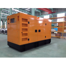 125kVA/100kw Volvo Diesel Generator Set with Soundproof Canopy Enclosure (TAD532GE)