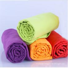 Promotional custom printed microfiber suede beach towel price