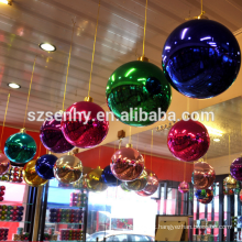 Grande bola multicolor de plástico de grande bola de Natal