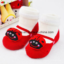 Chaussettes de bébé en coton 3D de vente chaude