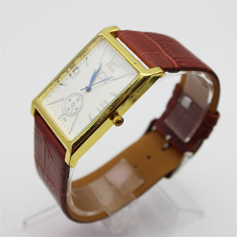 5ATM Waterproof Leather Quartz Watches