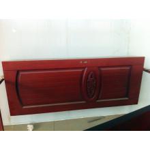Porte en bois massif en noyer rouge