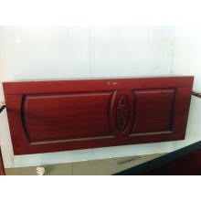 Porta de madeira sólida de noz vermelha