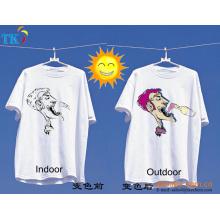 Pigmento fotocrómico UV polvo / tinta para camiseta