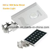 Lumière solaire de jardin de 12W IP65 LED pour l'éclairage extérieur