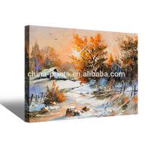 Famosos paisajes cuadros de pintura al óleo baratos