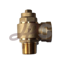 Gunmetal bronze male NPT swivel type metal ferrule valves