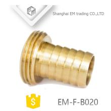 EM-F-B020 Brass plug pex pipe fitting