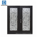 Fangda wrought iron grill entrance iron gate designs