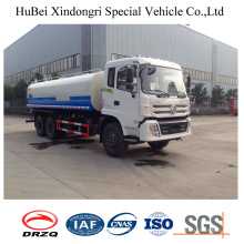 18cbm Dongfeng 6X4 Euro 4 Side Spray Water Sprinkler Tank Truck