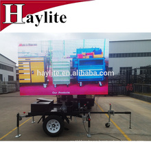 Full- color Portable VMS trailer with Video LED Display/Screen