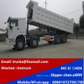 Low Price 8X4 40cubic Meter Dump Truck HOWO Tipper Truck