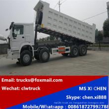 Precio 8 X 4 carro de volquete de HOWO de 40cubic metro Dump Truck
