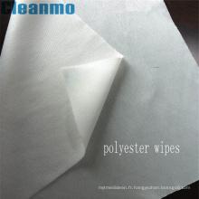 Le nettoyage de haute qualité essuie 100% d'essuie-glace 1006D de nettoyage de polyester de Cleanroom 100% de peluche de Cleanroom