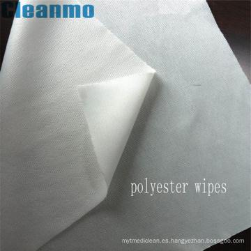 Toallitas de limpieza de alta calidad sin pelusa Limpiador de limpieza 100% de la sala blanca 100% poliester