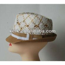 Nueva tienda de sombrero barato de la promoción 2014 de la promoción el 100% sombrero de paja, LSC01