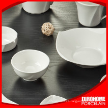 guangzhou manufactures costom stock white porcelain bowl