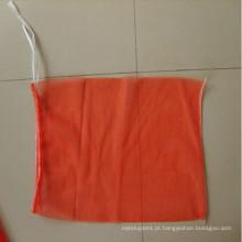 saco mono plástico biodegradável / saco de malha para legumes