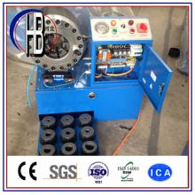 Aprobado por Ce Finn Power Techmaflex Uniflex 1/4 '' ~ 2 '' Máquina de engarzado de manguera hidráulica