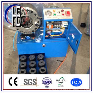 Best Quality Ce 1/4′′~2′′finn Power Hydraulic Hose Crimping Machine