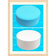 25g Pool Floc Tablet for Water Cleaning Chemicals Flocculant