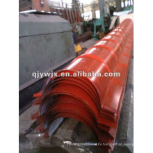 QJ camber ridge cap roof tile roll forming machinary