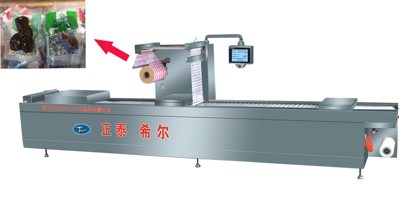 Vacuum Packing Machine Horizontal Thermoform Fill seal Packaging