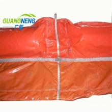 Easy Quick Install PVC Soild Float Oil Boom/Rubber Oil Boom