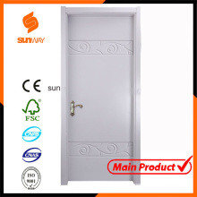 Wood Solid Wooden Door Fancy Door with Certificate